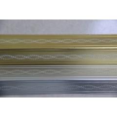 铝材系列-双S 金色 120cm x 6cm x 2 4mm 无