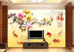 背景墙 彩色 热转印