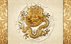 易玻背景墙2 鱼  家和  龙之韵 彩色 热转印