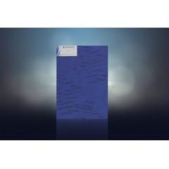 水立方压花彩镜 宝石蓝 1.83 x 2.44 4-6mm 水立方