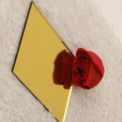 水立方压花彩镜 富贵黄 1.83 x 2.44 4-6mm 水立方