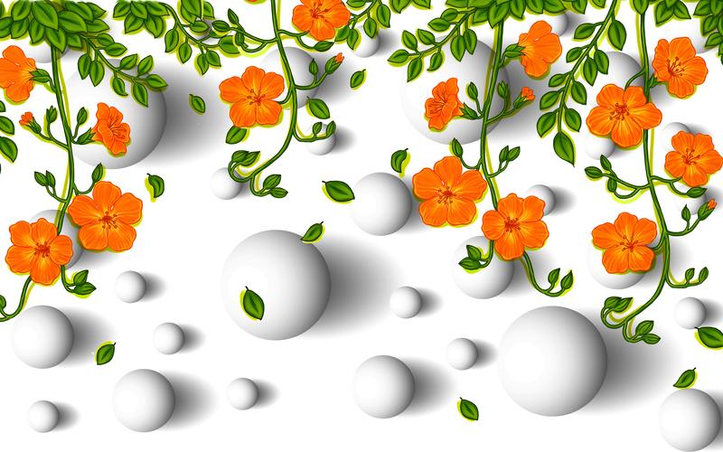 易玻背景墙8玫瑰 蝴蝶 彩色4